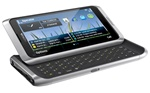"Nokia E7 16GB Unlocked QuadBand GPS WiFi HSDPA Cellular Phone Silver White - 850/900/1700/1900/2100MHz WCDMA, 4"" AMOLED Capacitive Display, QWERTY ,8MP Camera, HD Video 720p, HDMI, FM Radio, 3.5 mm audio jack, Digital compass, TV-Out, Symbian ^3"
