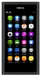 "Nokia N9-00 64GB Unlocked QuadBand GPS WiFi HSDPA Cellular Phone Lankku Black - 850/900/1700/1900/2100MHz WCDMA, 3.9"" AMOLED Display, Gorilla glass, 8MP Camera, Carl Zeiss, HD Video 720p, NFC, Dolby, TV-Out, Digital compass, MeeGo OS, v1.2 Harmattan"