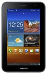 "Samsung Galaxy Tab 7.0 Plus 3G P6200 16GB Unlocked GSM Tablet Black - 900/1900/2100MHz WCDMA, 7.0"" Display, 3.15MP Camera, 720p HD Video, TouchWiz, Dual-core, Digital Compass, TV-out, Android OS, v3.2 Honeycomb"