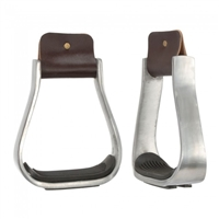 "Ranchman's 2"" Aluminium Barrel Racing Stirrups"