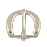 "3/4"" Nickel Plated Heel Buckle"