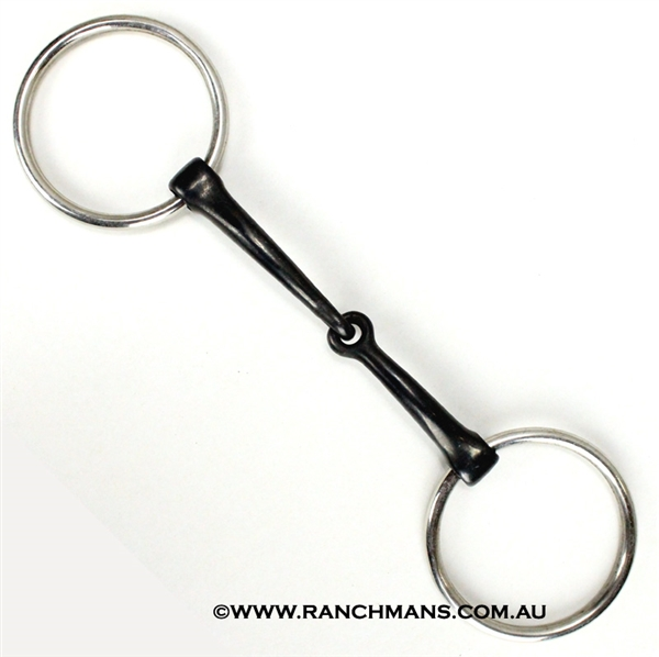 Sweet Iron 'O' Ring Snaffle-Standard