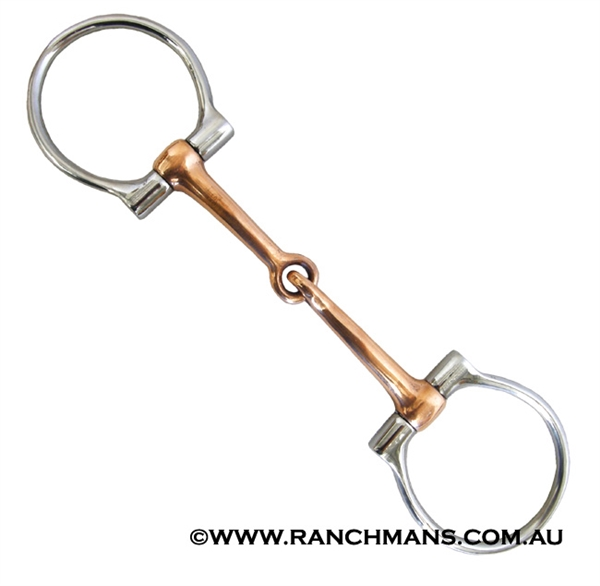 Ranchmans Copper MP Dee Snaffle