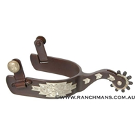Ranchmans Antique Finish Southwestern Trim Spurs