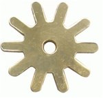 Brass 10 Point Rowels