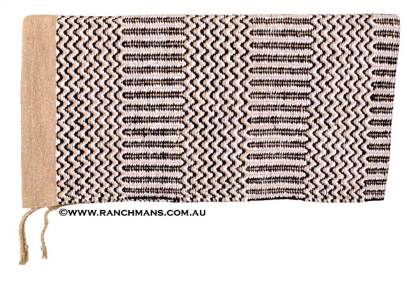 "Double Weave Navajo Saddle Blanket 32""x64"""