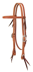Weaver© Basketweave Browband Headstall