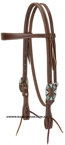 Weaver© Southwest Hardware Browband Headstall