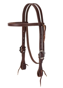 Weaver© Canyon Rose Browband Headstall