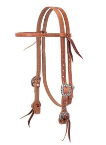 Weaver© JW Buttered Browband Headstall