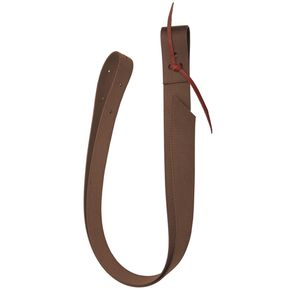 Ranchman's Nylon Latigo Tie Strap - Black or Brown