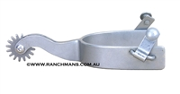 Ranchmans Steel Cutter Spurs w/Rockgrinder Rowels
