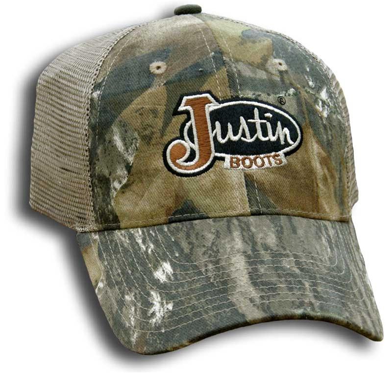 3a6416677 Justin Boots® Mossy Oak Camo Cap