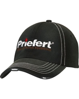 Priefert® Rodeo & Ranch Equipment Logo Black Cap