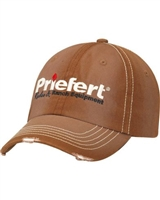 Priefert® Rodeo & Ranch Equipment Logo Brown Cap