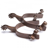 Ranchmans Antique Finish Roping Spurs