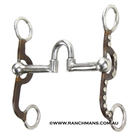 Ranchmans Antique Brown Short Shank Low Correction Bit
