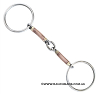 Ranchmans Lifesaver Loose Ring Snaffle