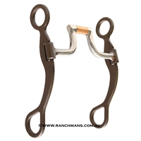 Ranchmans Antique Finish Ranch Hinge Port Bit