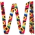 Showman® Serape & Sunflower Design Nylon Latigo & Off Billet Set