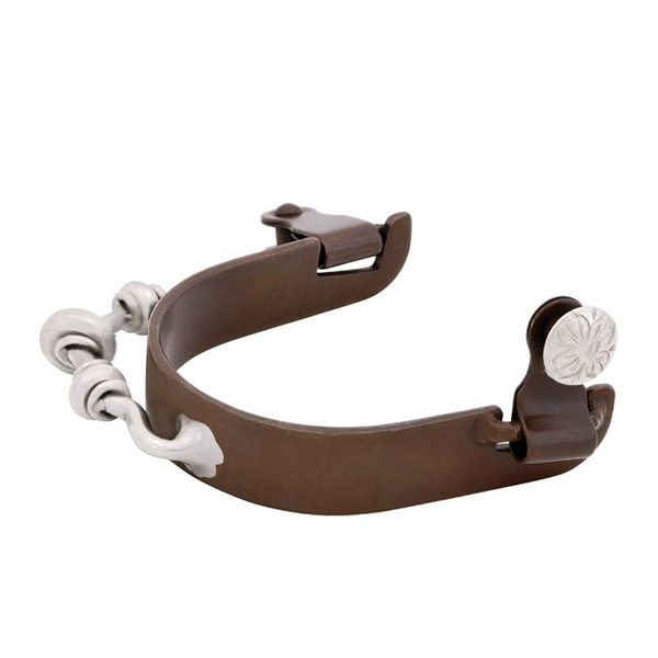 Ladies Smooth Rowel Bumper Spurs