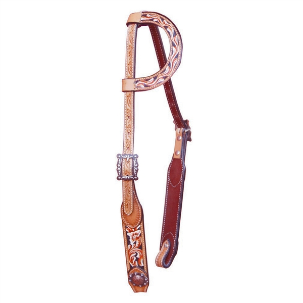 Bar H Equine® Tri Colored One Ear Bridle