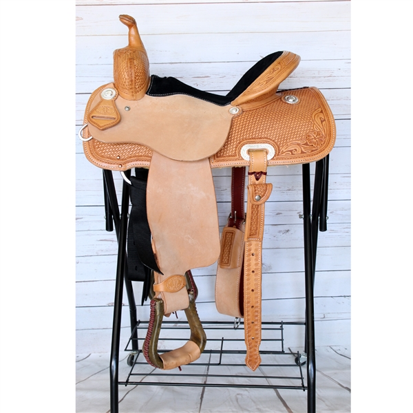 "SRS® 14-1/2""  Barrel Racer Saddle"