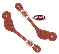 Weaver® Adult Basketweave Stamp Spur Straps