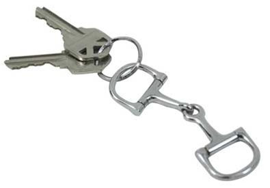 Dee Snaffle Key Ring