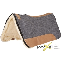 Mustang® Correct-Fit Saddle Pad w/Poron XD & Fleece