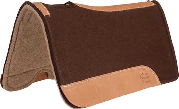 Mustang® Elite Pressed Felt & Wool Saddle Pad
