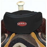 Showman® Nylon Insulated Saddle Pouch - Black