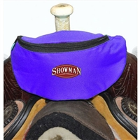 Showman® Nylon Insulated Saddle Pouch - Blue