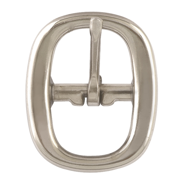 "7/8"" Nickel Plated Swage Buckle"