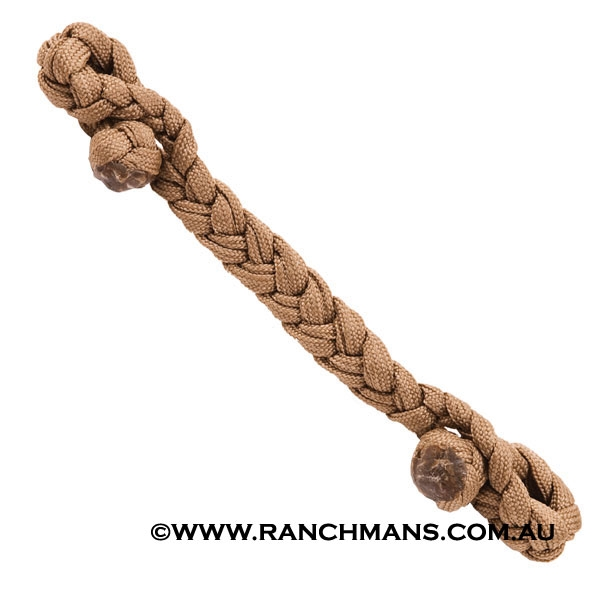 Ranchman's Braided Nylon Curb Strap