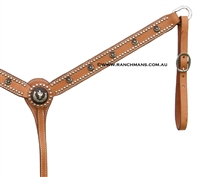 Ranchman's Iron Cactus Breast Collar