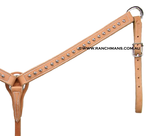 "Ranchman's SRS 1 1/4"" Large Dotted Breast Collar"