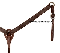 "SRS 1 1/4"" Harness Leather Breast Collar"