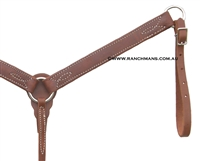 Ranchman's Harness Leather Pony Breast Collar