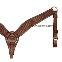 "SRS 2 1/2"" Contoured Breast Collar - Shell Border"
