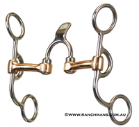 Ranchmans Short Shank Correction w/Spoon Bit