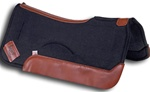 "Impact Gel 3/4"" Wool Western Contour Saddle Pad"
