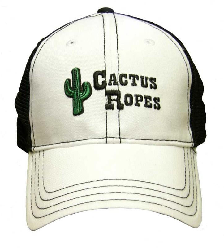 Cactus Ropes® 2011 White Black Sports Mesh Cap e96d33f1efa