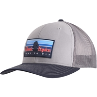 Classic Equine® Rubber Patch Logo Cap - Grey & Navy