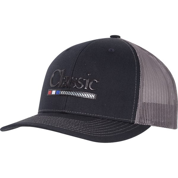 Classic Ropes® Large Poly Press Logo Cap