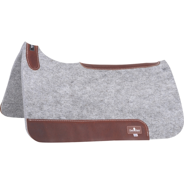 "Classic Equine® Blended Wool 3/4"" Felt Saddle Pad"