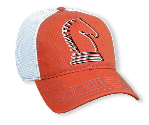 Classic Equine® Orange Knight Trucker Cap
