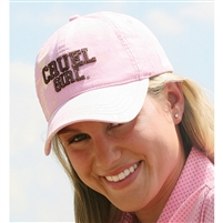Ladies Cruel Girl® Pink Ball Cap