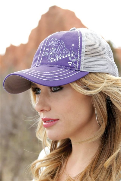 Ladies Cruel Girl® Purple Trucker Cap
