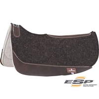 Classic Equine® ESP™ Extra Sensory Protection Felt Top Barrel Saddle Pad